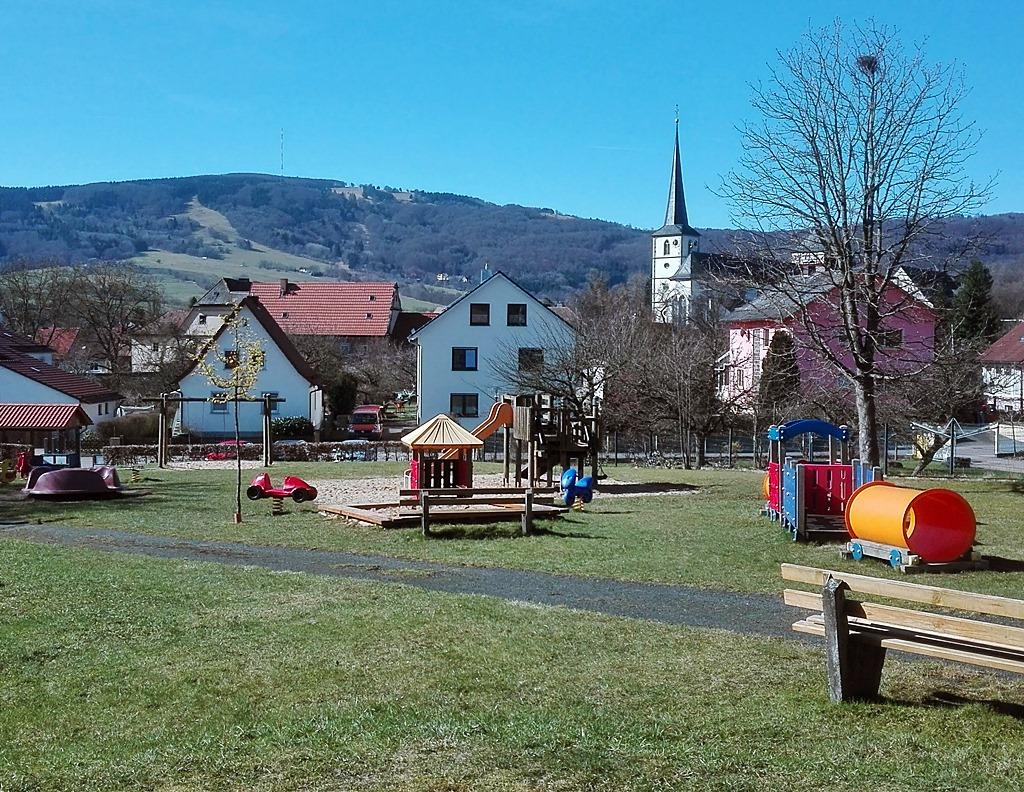 Spielplatz Bischofsheim Rhön