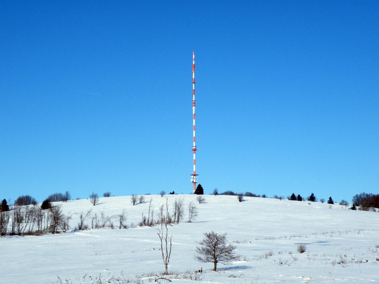 Heidelstein Rhön Winter