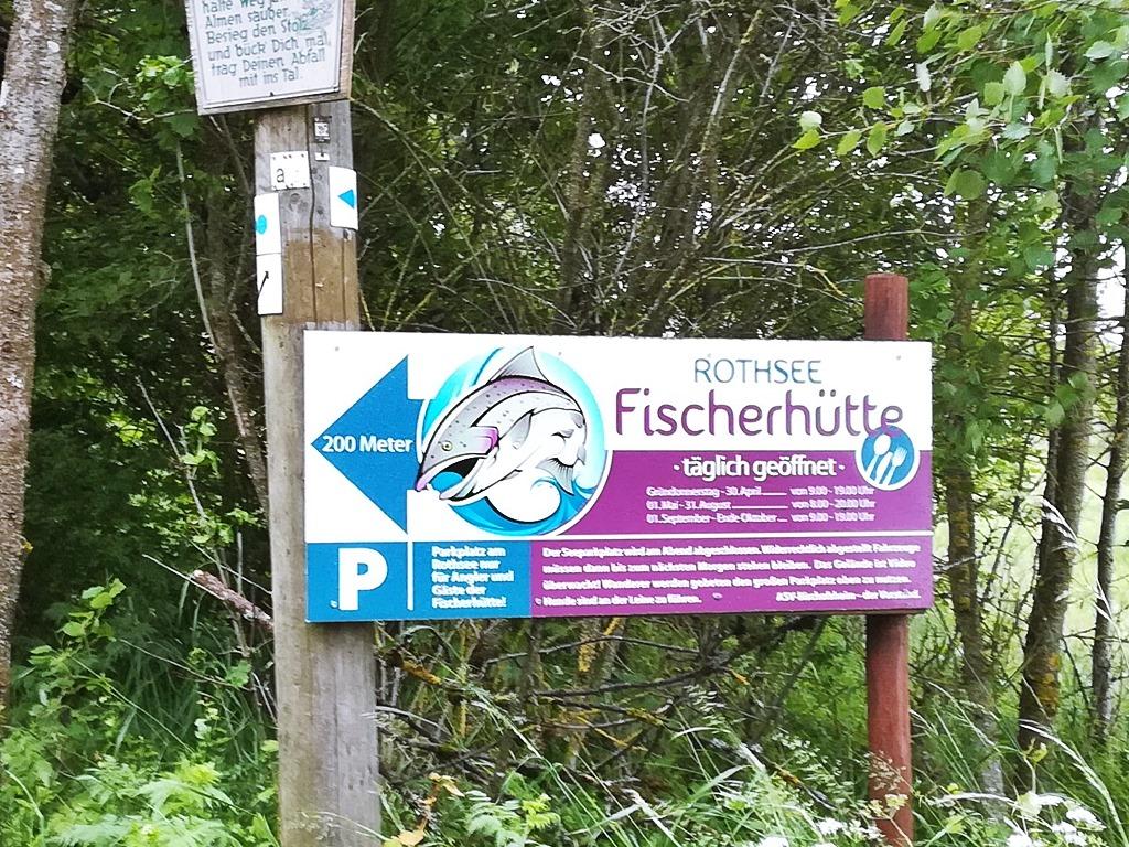 Fischerhütte am Rothsee Rhön