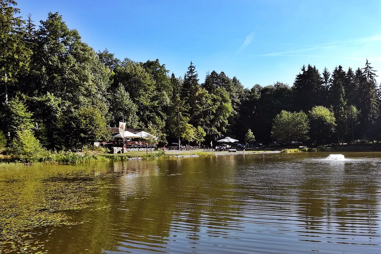 Fischerhütte am Rothsee