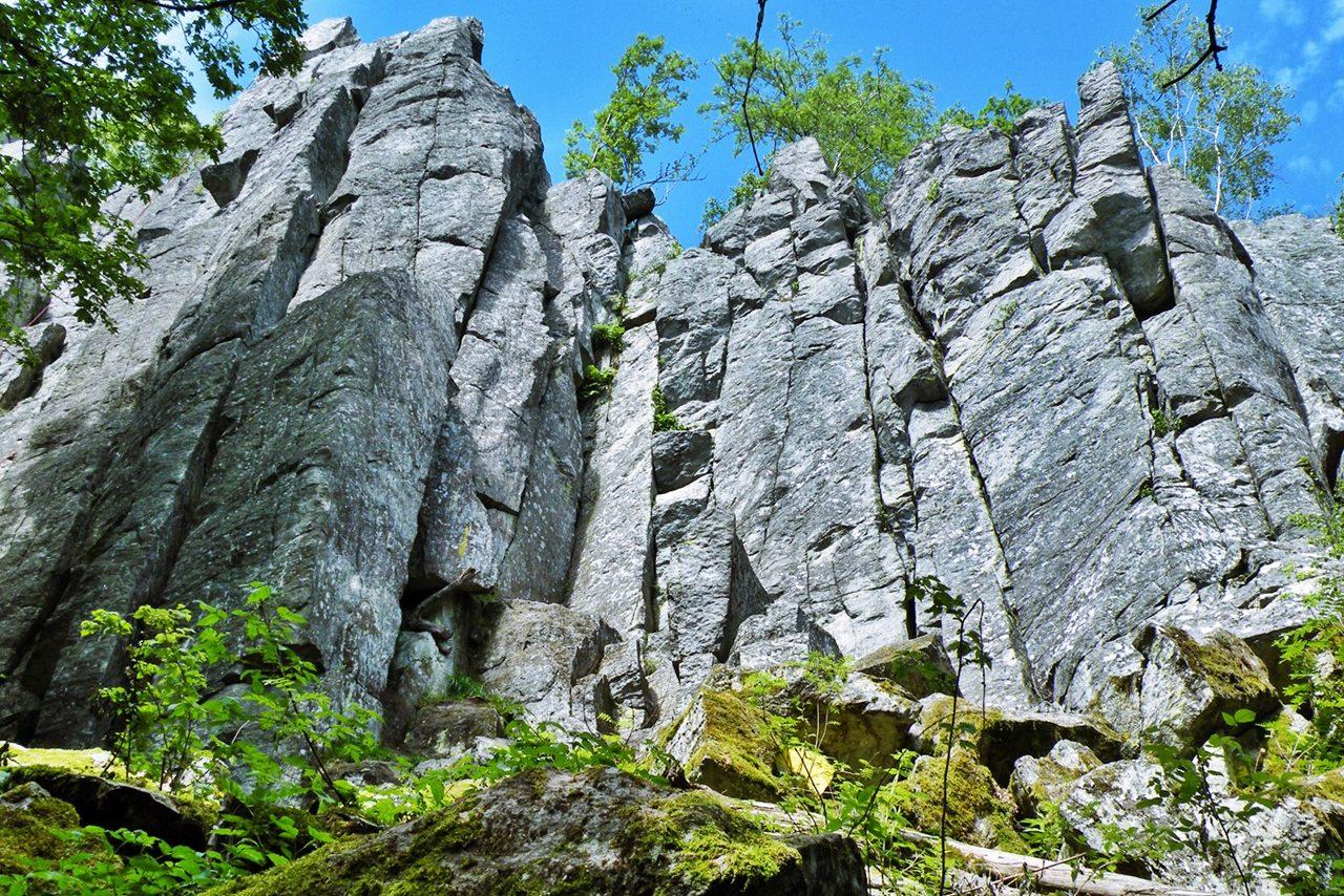 Steinwand Rhön
