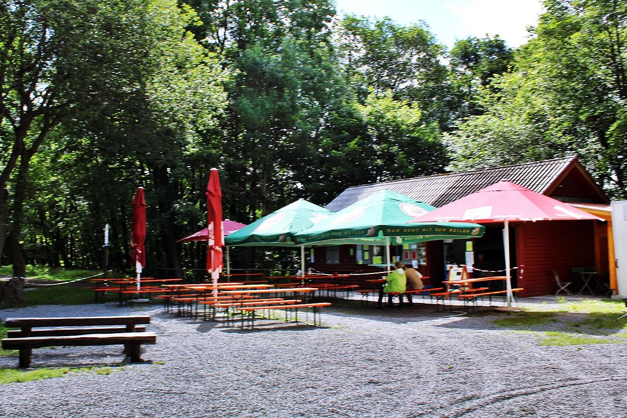 Kiosk am Basaltsee Rhön
