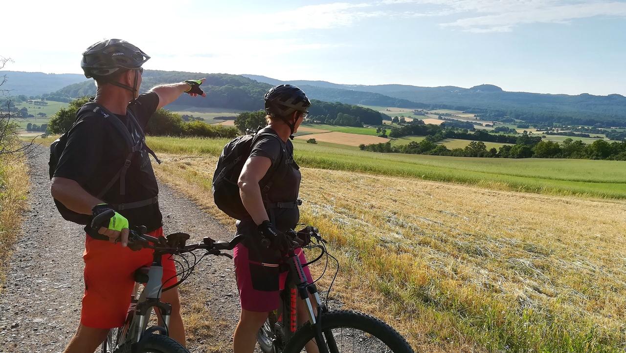 Mountainbike Touren Rhön